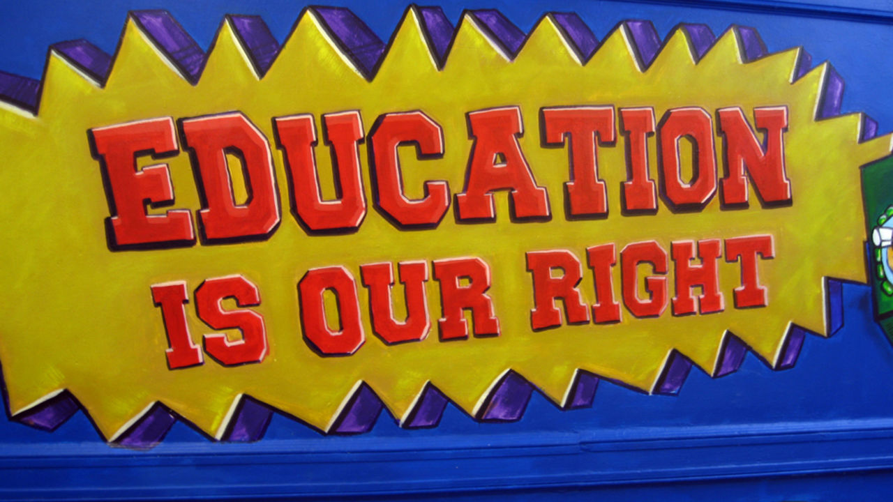 Education is our Right and Its All in How You Play Your Cards