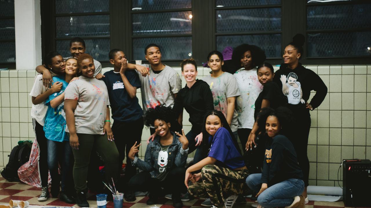 TEMA youth group shot.