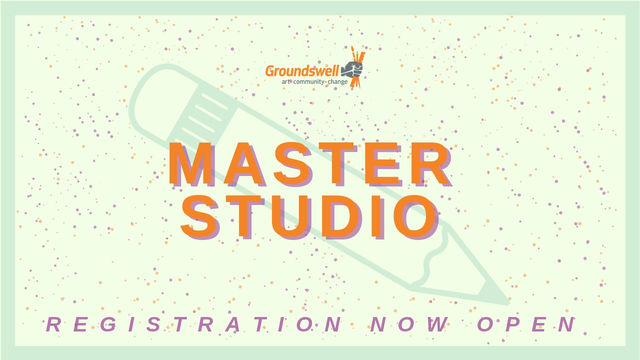 Master studio programs are now open