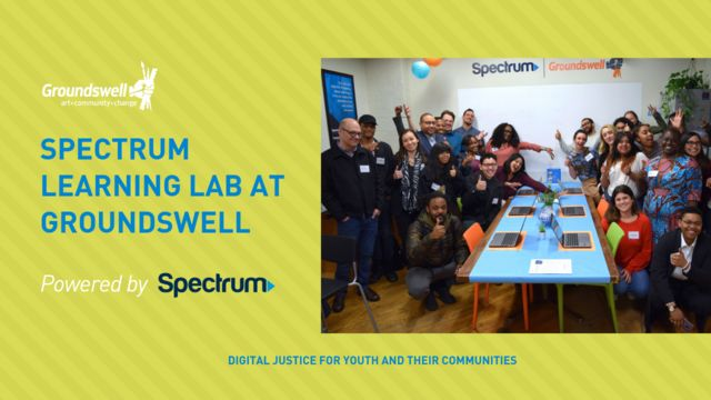 Groundswell Unveils New Spectrum Learning Lab for Digital Justice